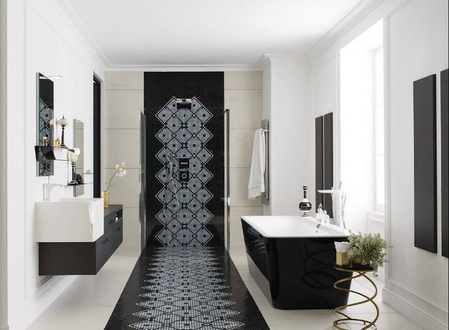 salle de bain d 39 exception haute couture classique chic. Black Bedroom Furniture Sets. Home Design Ideas