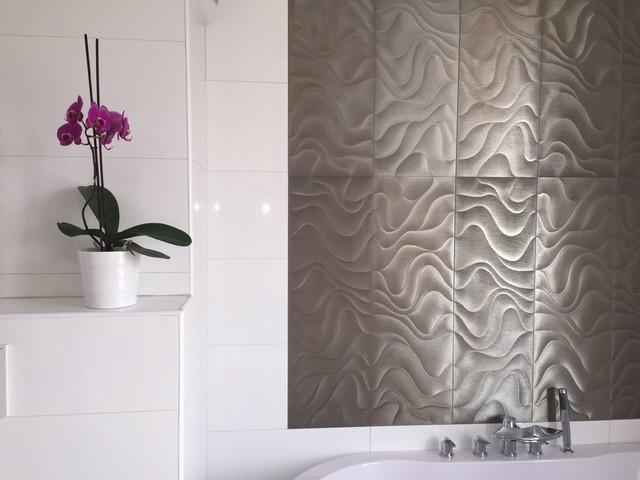 Salle de bain design et épurée - Modern - Bathroom - Paris ...