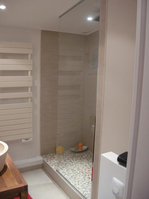 Salle de bain  Minéral et bois