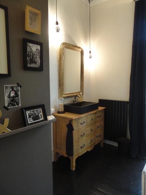 Salle de bain moulis campagne salle de bain autres - Salle de bain maison ancienne ...