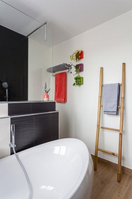 Salle De Bain Parentale Contemporary Bathroom