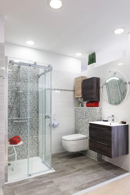 Salle de bain parentale - Shabby-Chic-Style - Badezimmer ...