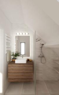 Salle De Bain Rdc Contemporary Bathroom Paris By Studio Aesthesis Houzz Au