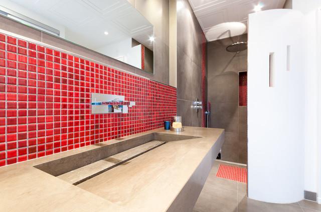 Salle de bain Saint François - Shabby-Chic-Style ...