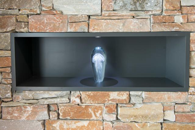 Salle de bain / véranda jacuzzi - Contemporary - Bathroom ...