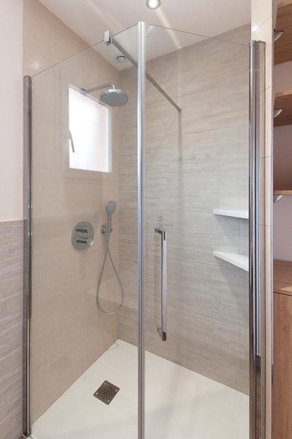 Salle de bain Zen - Modern - Badezimmer - Lyon - von ...