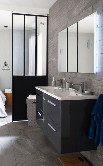 Salle de bains Meltem - Contemporain - Salle de Bain - Lille - par ...