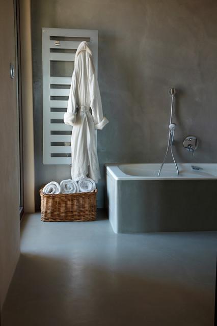 salles de bains en b ton cir