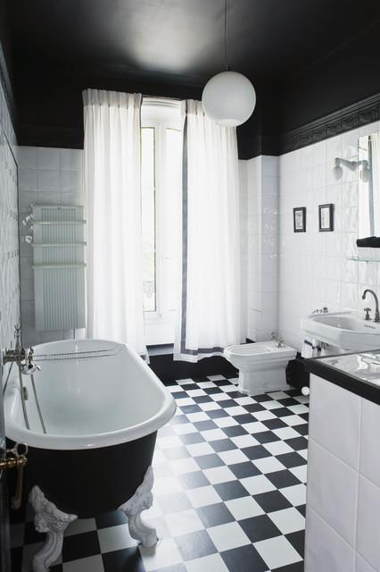transformation avant apres classique salle de bain paris par julien clapot. Black Bedroom Furniture Sets. Home Design Ideas