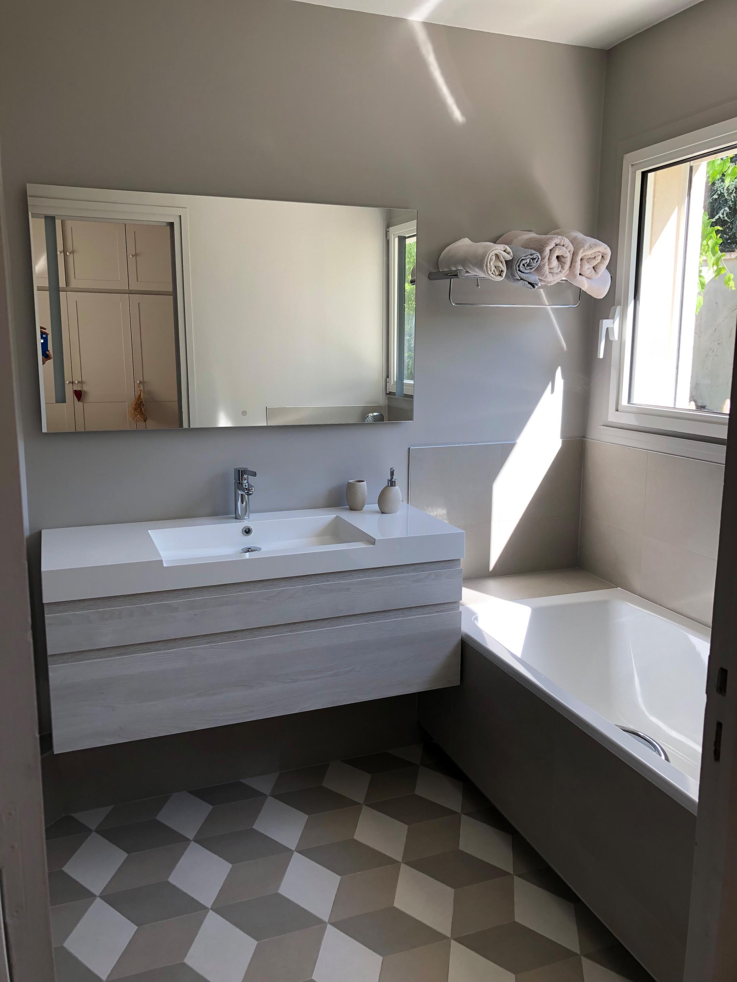 Transformation de 2 salles de bain