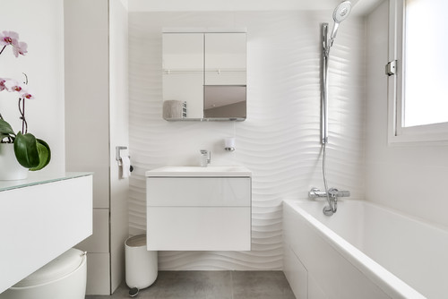 How To Make Any Bathroom Look And Feel Bigger Adorable Bathroom Partition Manufacturers Concept