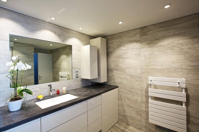 vasque salle de bain en ardoise salle de bain ardoise et bois lombards - Salle De Bain Teck Et Ardoise