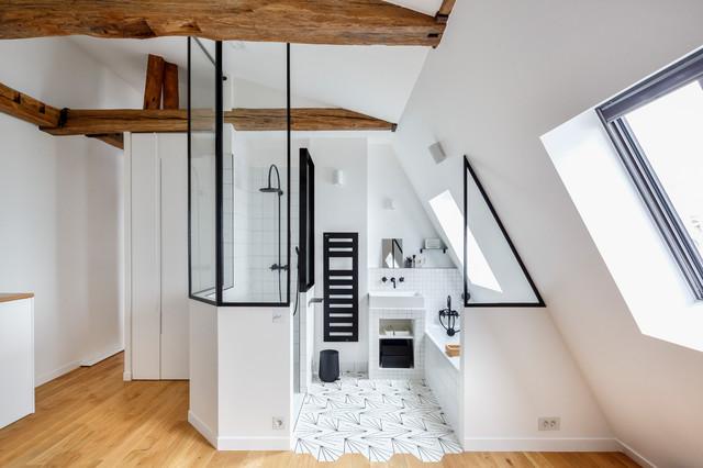 Verrière métallique - Projet résidentiel - Éclectique ...