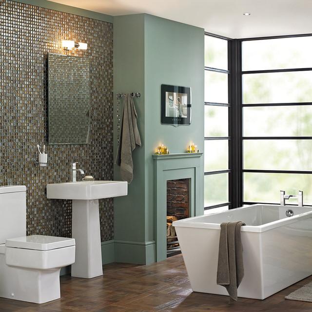 Watermark Bathroom Eclectic Hertfordshire