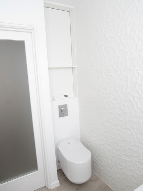 wc japonais carrelage porcelanosa contemporain salle de bain lille par l d int rieur. Black Bedroom Furniture Sets. Home Design Ideas