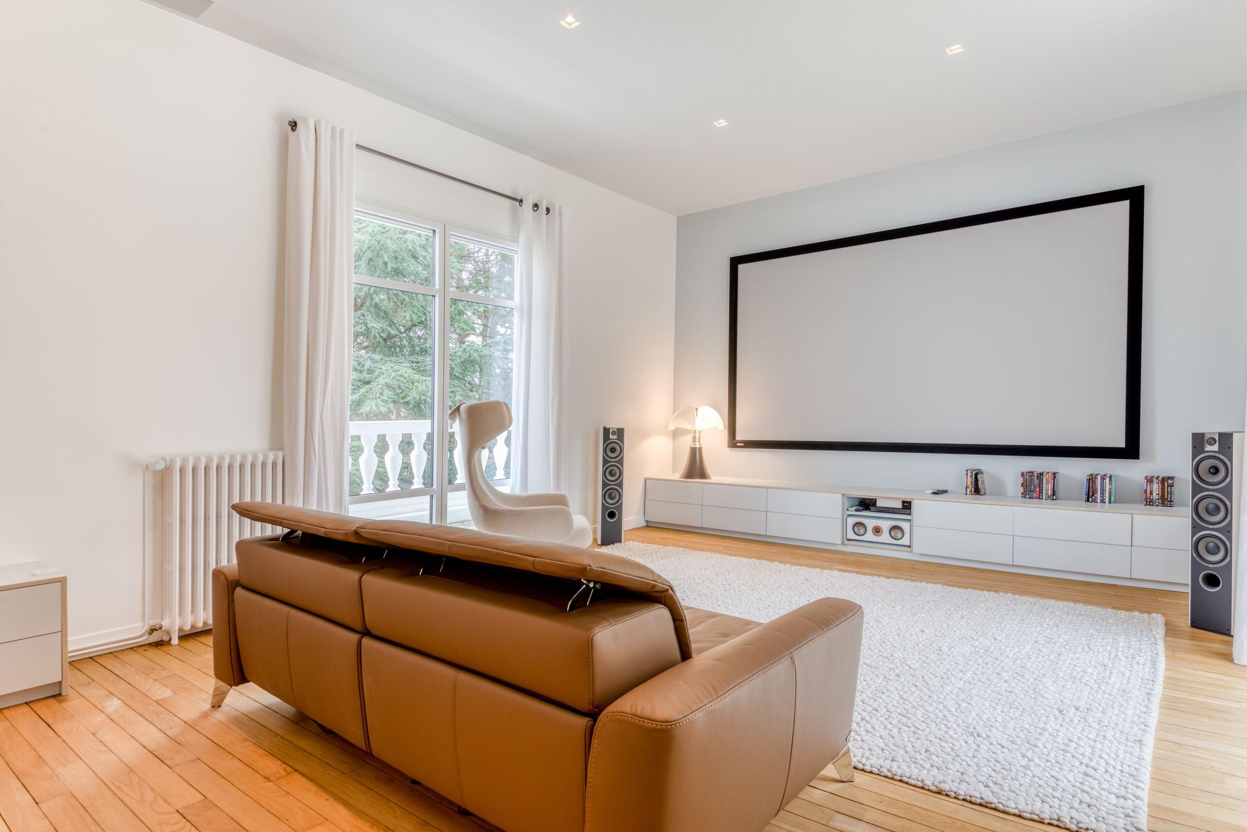Villa de 650 m2 à Saint-Germain-en-Laye - Le Home Cinema