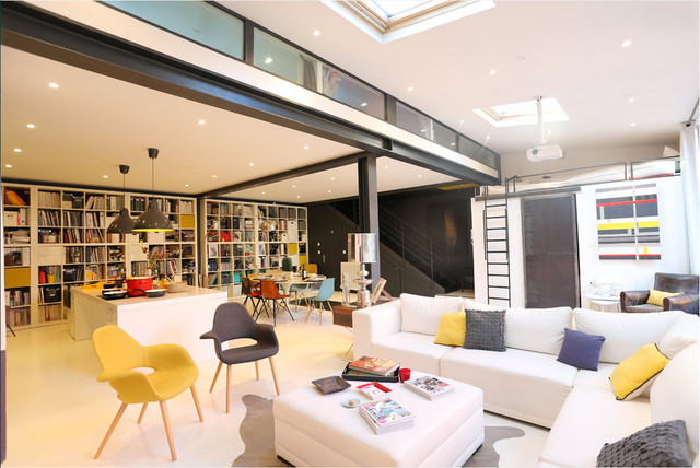 Am nagement loft for Amenagement interieur contemporain