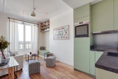Visite Privée : Optimisation de la clarté dans ce 35 m2 modernisé