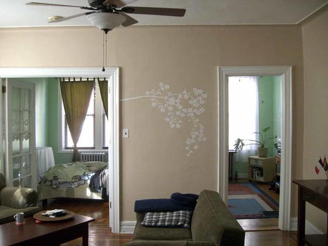 appartement new yorkais modern family room new york by harmonie en soi harmonie chez soi. Black Bedroom Furniture Sets. Home Design Ideas