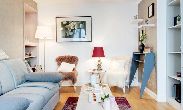 Appartement contemporaneo-salotto