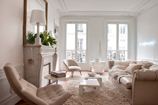 Appartement Paris contemporary-family-room