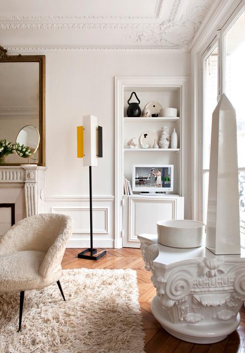 Apartamento en  Paris de Emilie Bonaventure estilo años 50
