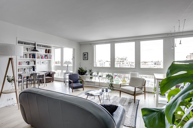 ARCHITECTURE INTERIEURE DECORATION RENOVATION PARIS  Scandinavian Family And Games Room