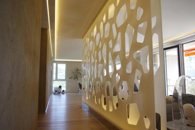 Cloison murale - séparation en résine de synthèse - Modern ...