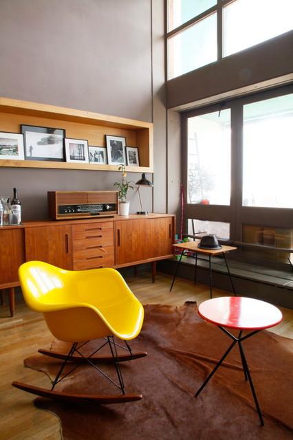 Contemporain Salon contemporary-family-and-games-room