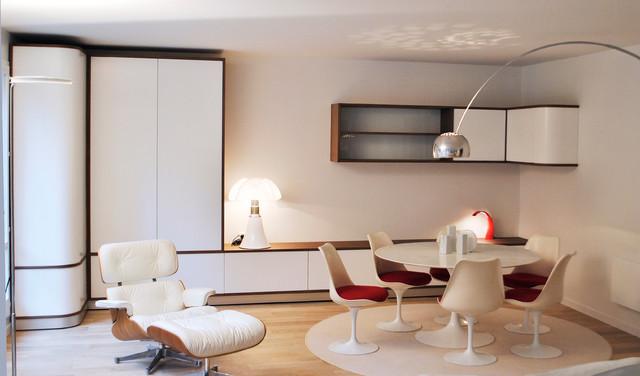 Cr ation de mobilier sur mesure contemporain salle de for Mobilier de sejour