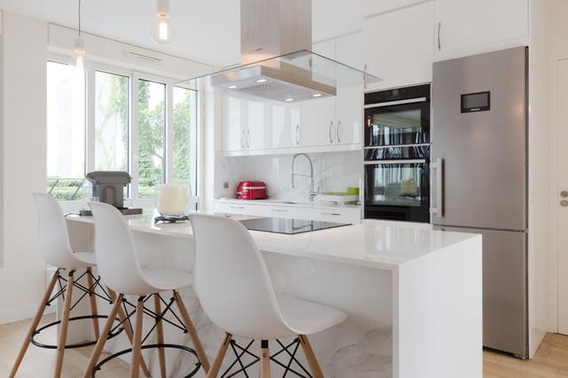 Cuisine américaine modern-family-room