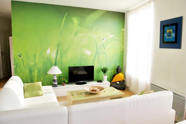 D coration appartement brest moderne salle de s jour for Salle sejour moderne