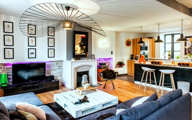 d coration d 39 int rieur clectique salle de s jour brest par sam va photographie. Black Bedroom Furniture Sets. Home Design Ideas