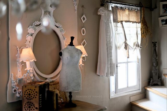 d coration romantique et shabby chic my little home in france romantique salle de s jour. Black Bedroom Furniture Sets. Home Design Ideas