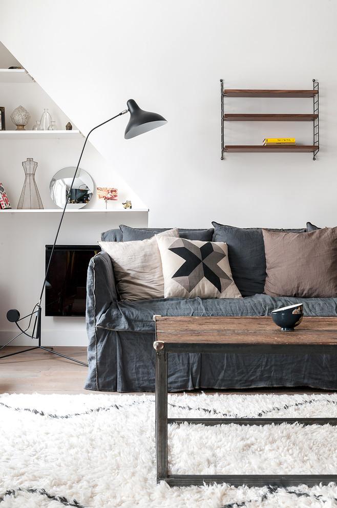 Immagine di un soggiorno nordico