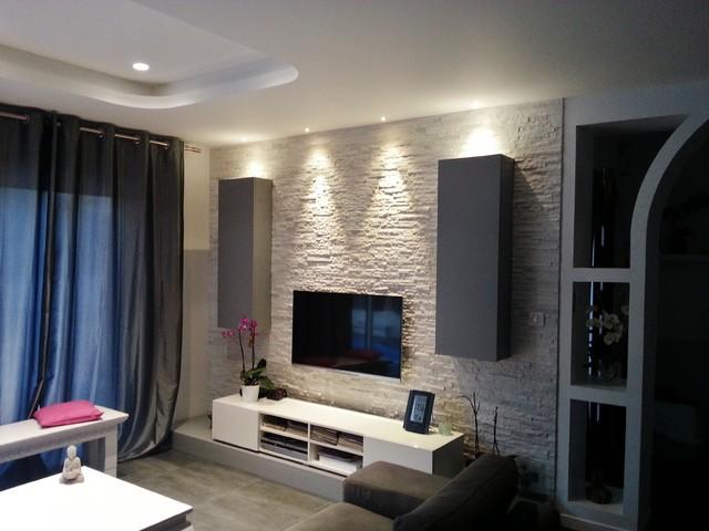 extension et r novation d 39 une villa bord de mer salle. Black Bedroom Furniture Sets. Home Design Ideas