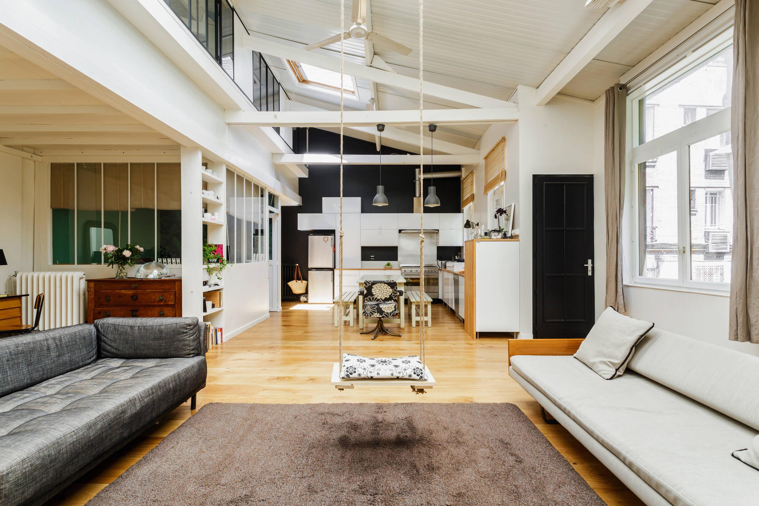 Maison loft Paris 12e   Industrial   Wohnzimmer   Paris   von LE ...