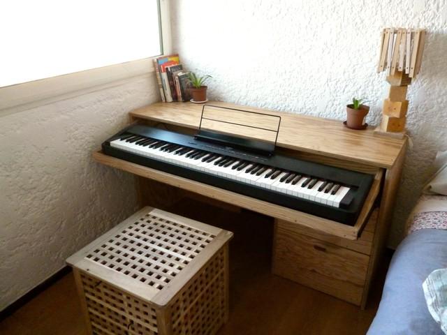 Meuble piano tiroir