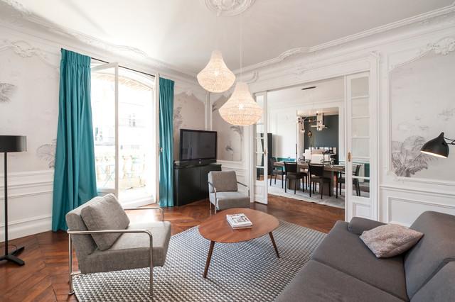 Moderne Salon - Modern - Wohnzimmer - Paris - von Julien Pépy ...