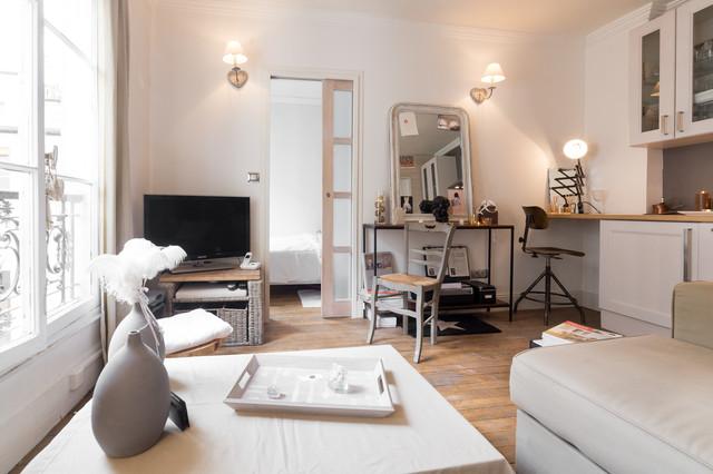 Paris ix appartement 25m2 for Amenager studio 25m2