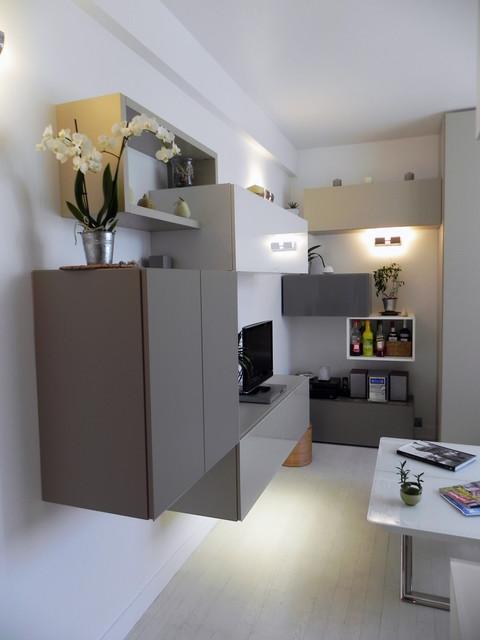 Petit appartement de 40m2 Cuisine, Entrée, Salon, Dressing ...