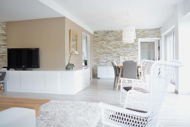 Pi ce vivre douce et cosy modern family room - Piece a vivre moderne ...