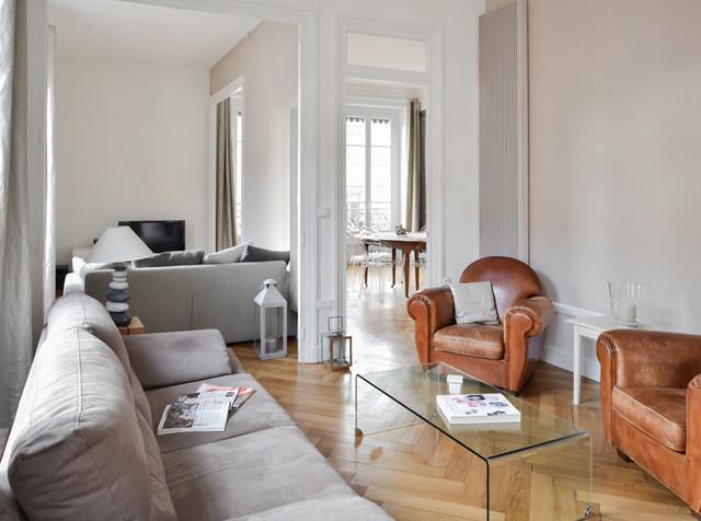 Rénovation d un appartement haussmannien à lyon modern