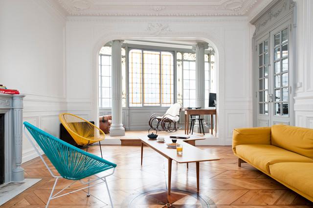 Rénovation d\'un appartement haussmannien - Modern ...