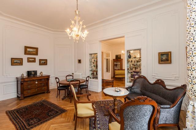 Rénovation d\'un appartement haussmannien - Viktorianisch ...