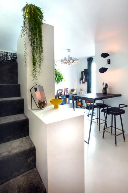 Rénovation d\'un Studio de 20 M2 - Modern - Wohnzimmer ...