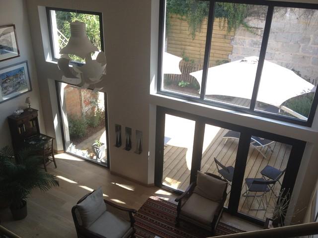 r novation choppe chic et moderne contemporain salle de s jour bordeaux par aude sweet. Black Bedroom Furniture Sets. Home Design Ideas