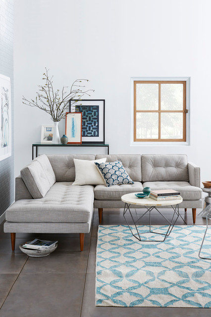 Scandinavian Living Room Contemporary Family And Games Room