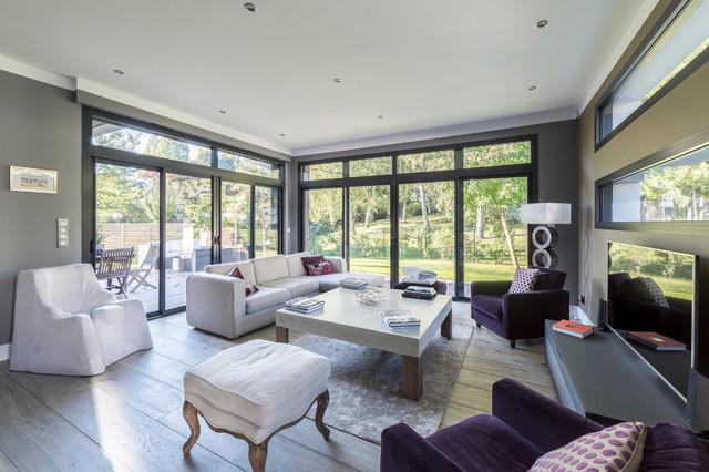s jour et salon. Black Bedroom Furniture Sets. Home Design Ideas