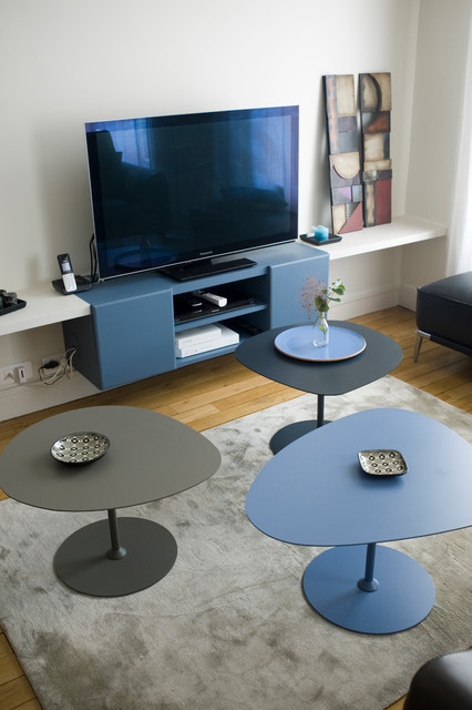 Tables basses gigognes contemporary family room - Tables basses gigognes ...